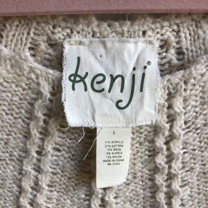 Anthropologie Dresses - Anthropologie Kenji Cable Knit Sweater Dress | L